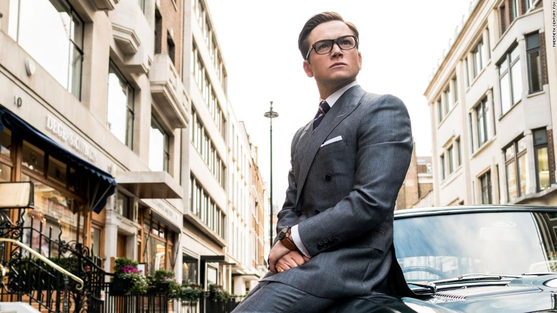 """Kingsman: The Golden Circle"": Taron Egerton stars in this comedic spy thriller. (HBO Now)"
