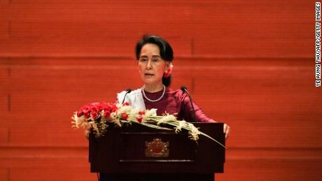 Myanmar's Aung San Suu Kyi stripped of human rights award