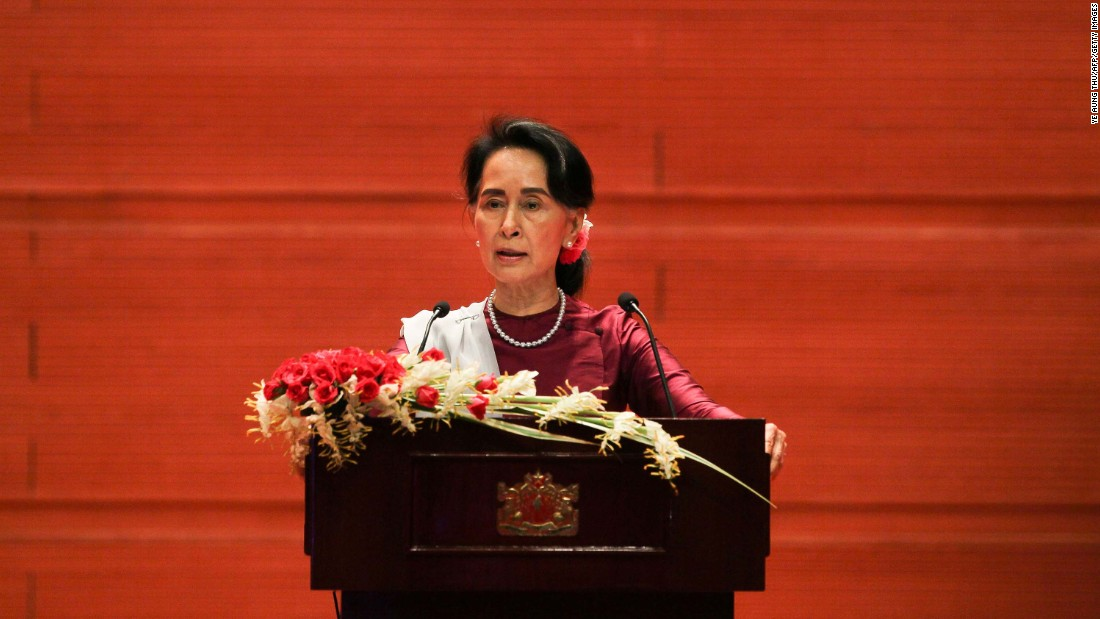 Canadian MPs vote to revoke Aung San Suu Kyi's honorary citizenship