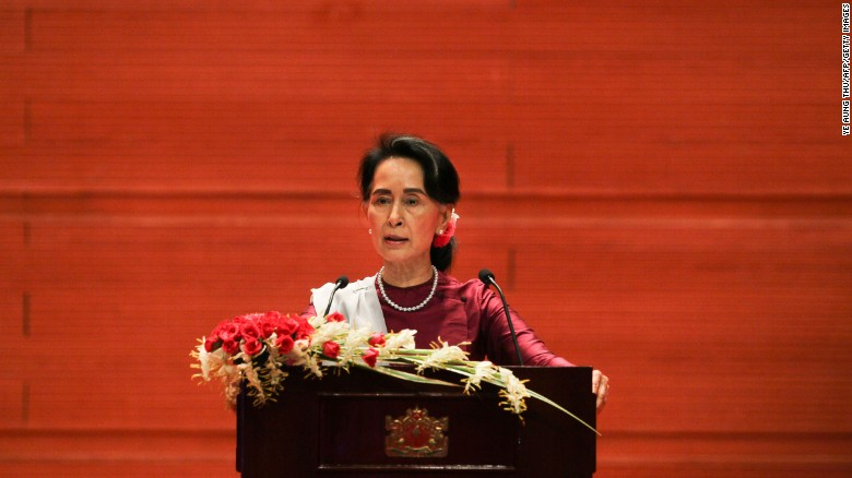 Aung San Suu Kyi Breaks Silence On Rohingya Sparks Storm Of  Myanmars State Counsellor Aung San Suu Kyi Delivers A National Address In  Naypyidaw On September  What Is A Thesis Statement In A Essay also Process Essay Example Paper Public Health Essay