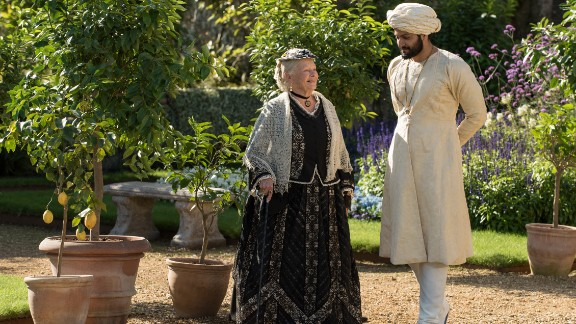 Judi Dench, Ali Fazal in 'Victoria & Abdul'