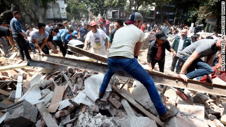 Central Mexico earthquake kills more than 200
