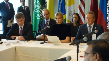 Ivanka Trump delivers anti-human trafficking speech at UN