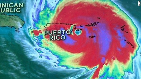 Puerto Rico braces for direct hit from Maria