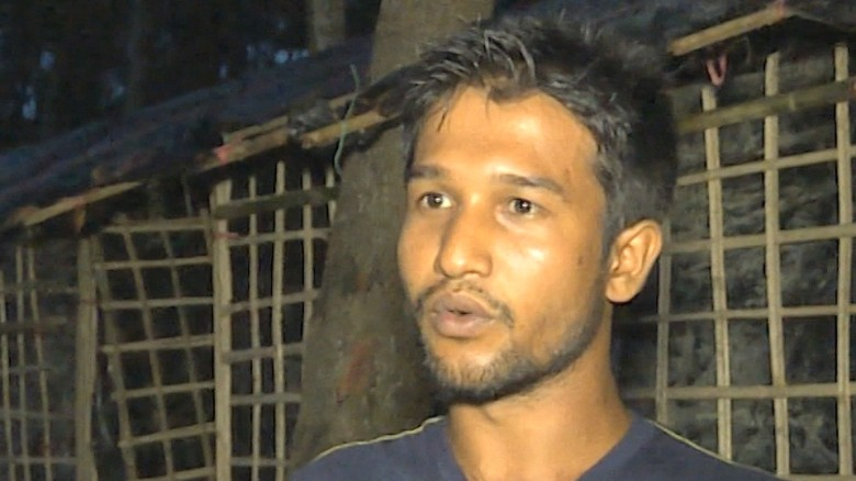 Survivor tells of brutality in Myanmar
