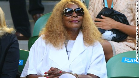 Oracene Price is a familiar figure at grand slams when her daughers are playing.