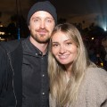 aaron paul lauren parsekian FILE