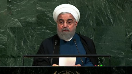 Iran's Rouhani pushes back on Trump