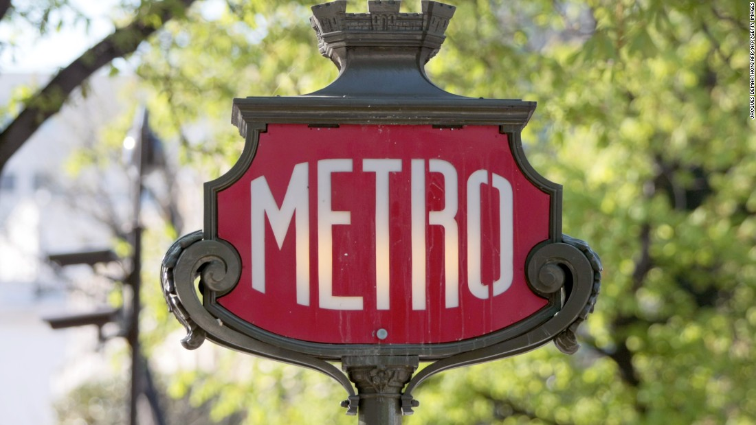 The French capital has some of the most distinctive Metro branding in the world.