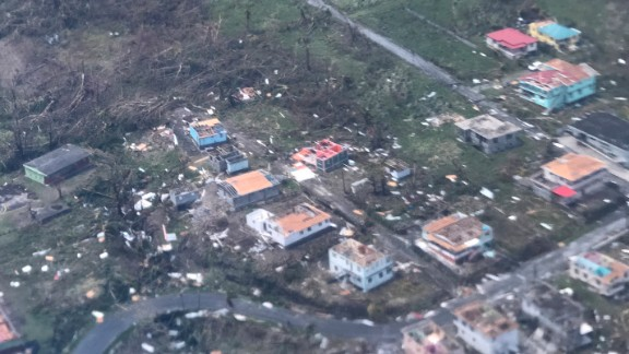Those with relative and friends on Dominica are desperate for information.