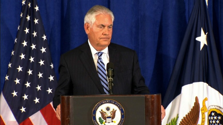 Tillerson: Trump not ready to share Iran deal