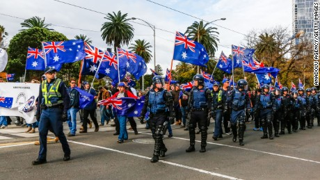 Australia's far right fighting for attention