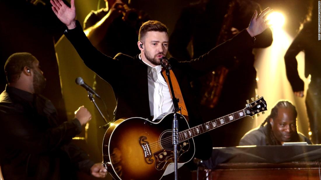 Justin Timberlake wiegt in auf dem Girl Scout cookie-Debatte