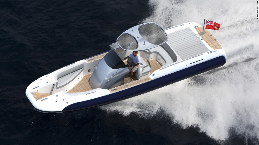"Described as ""proven to be the perfect multi-role yacht tender,"" the Custom Beachlander is designed to offer ""elegant beachlandings"" for superyacht owners intent on making a stylish entrance."