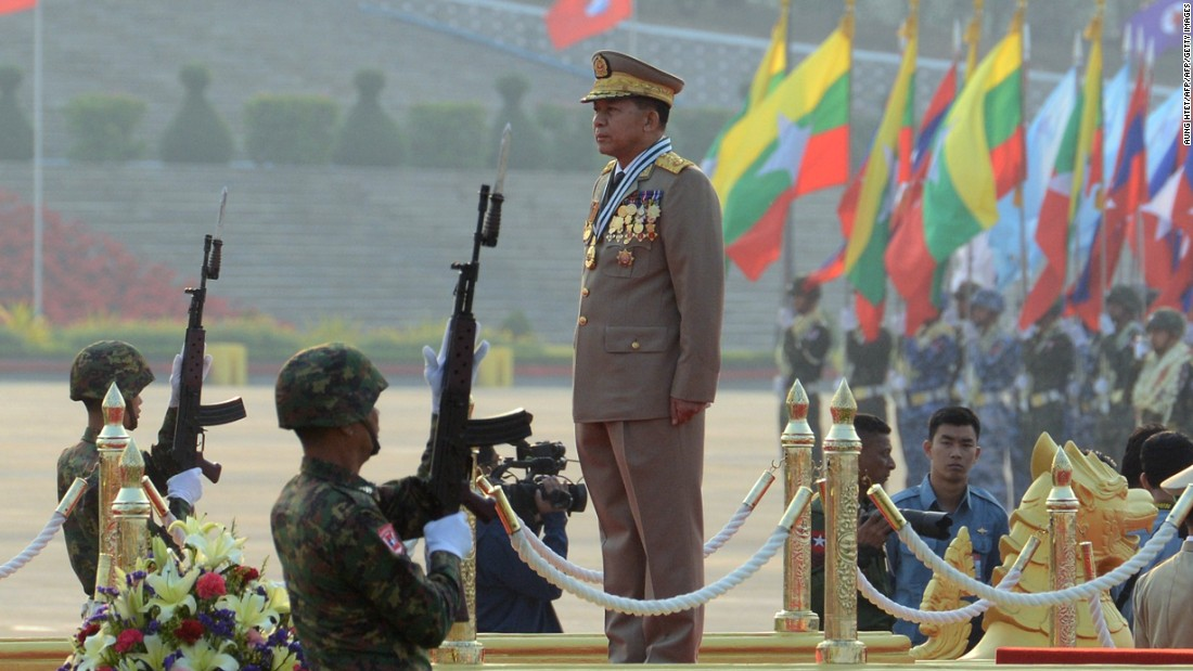 US sanctions four Myanmar military leaders for human rights violations