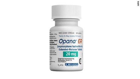The FDA determined this summer that the risks of Opana ER outweighed the benefits.