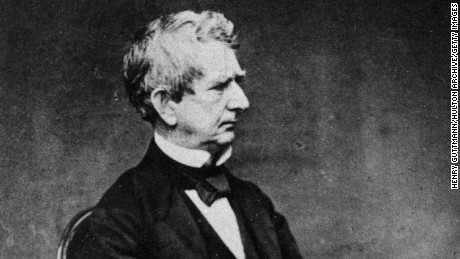 Secretary of State William Henry Seward (1801 - 1872).