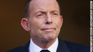 Former Australian Prime Minister Tony Abbott in September 15, 2015 in Canberra.