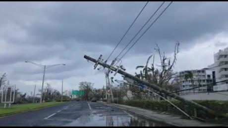 Puerto rico despert con tristeza por los destrozos del - Puerto rico huracan maria ...
