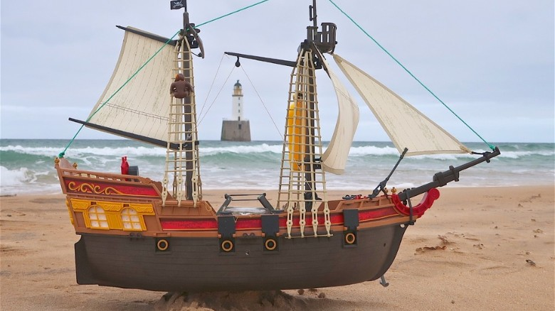 A Playmobil Pirate Ship Has Sailed All Of The Way From UK To Scandinavia And