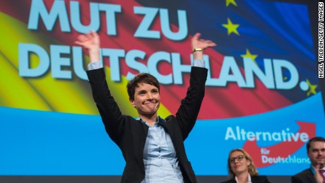 Frauke Petry has co-led the party since 2015.