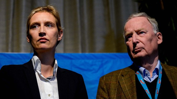 Alice Weidel and Alexander Gauland will lead the AfD in parliament.