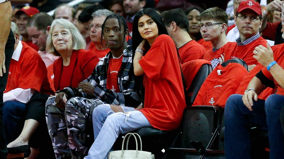 "Makeup mogul and reality star Kylie Jenner and boyfriend rapper Travis Scott <a href=""https://www.cnn.com/2018/02/06/entertainment/kylie-jenner-stormi/index.html"" target=""_blank"">welcomed daughter Stormi in February.</a> She is the first child for the makeup mogul who kept her pregnancy under wraps."