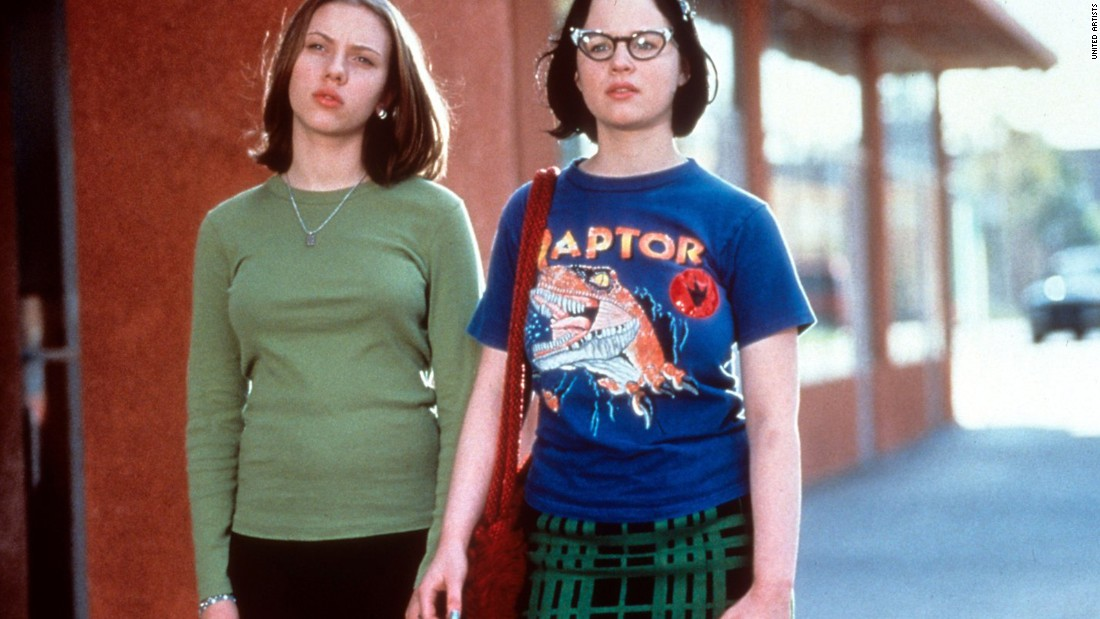 "<strong>""Ghost World""</strong>: Scarlett Johansson and Thora Birch star in this dark comedy about a pair of teen friends, which is based on a comic book of the same name. <strong>(Amazon Prime, Hulu) </strong>"