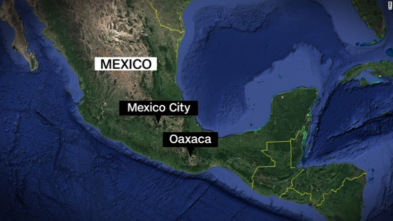 Guajaca Mexico Map.New Earthquakes Shake Mexico Already Coping With Earlier Disasters