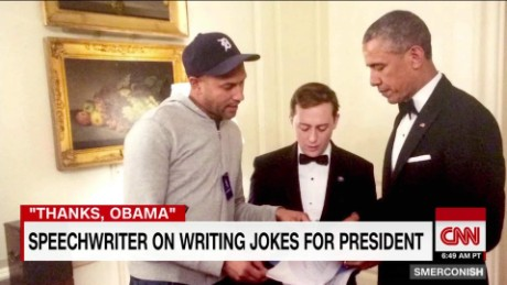 Speechwriter on writing jokes for Obama_00003317