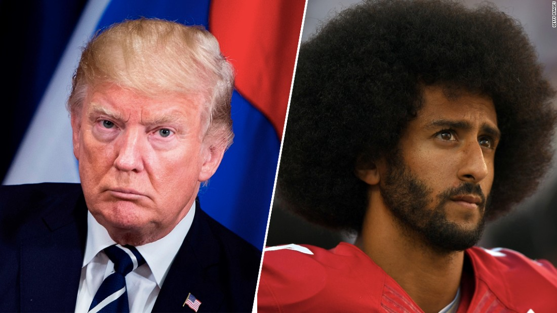 Trump says Colin Kaepernick should be given another chance in the NFL 'if he has the playing ability' - CNN thumbnail