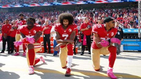 It's impossible for black athletes to leave politics off the field