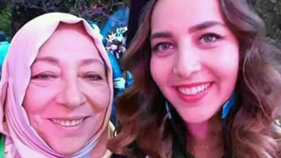Ouruba Barakat and her daughter, Halla, were killed in Istanbul.