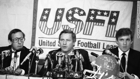 Trump's ugly battles with the NFL go way back