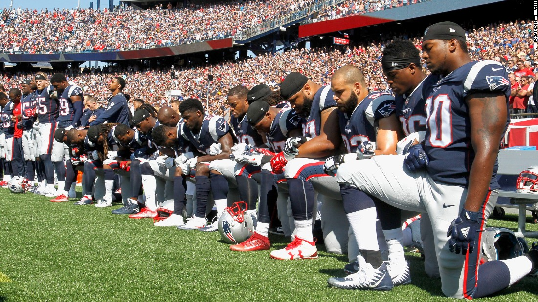 The NFL commits $250 million over the next 10 years to help fight systematic racism