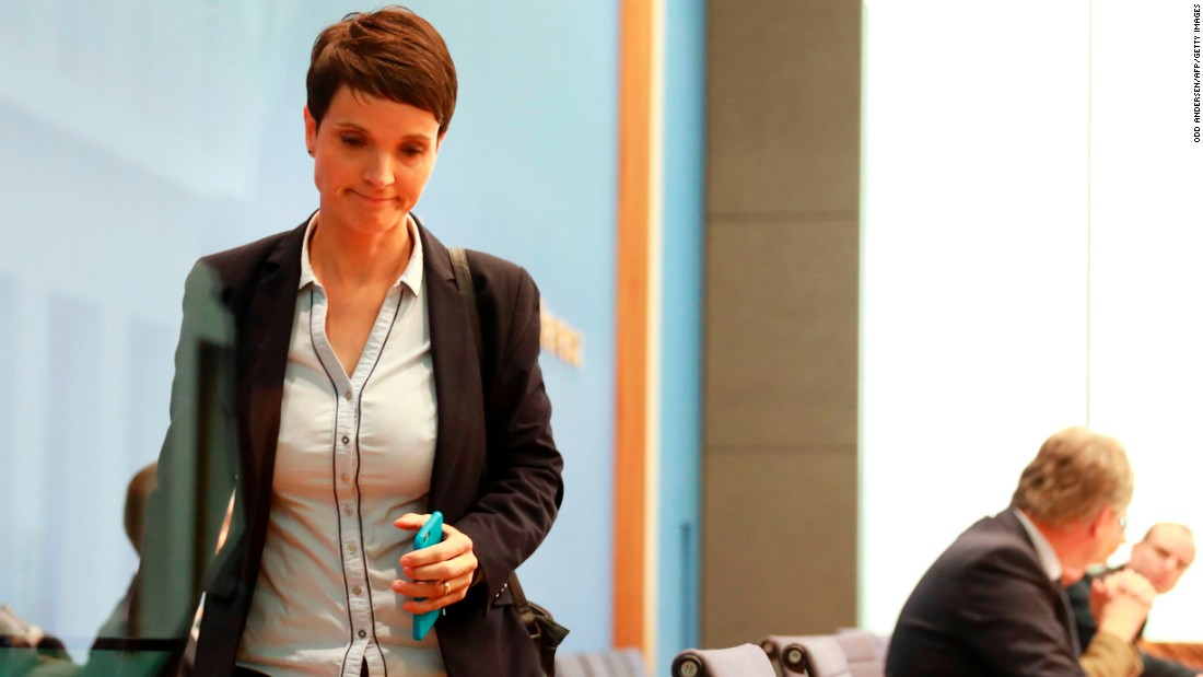 09 >> AfD disarray as Frauke Petry quits after German election - CNN