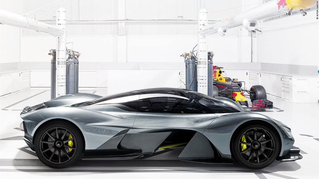 "The Valkyrie is Aston Martin's ""ground-breaking hypercar."""