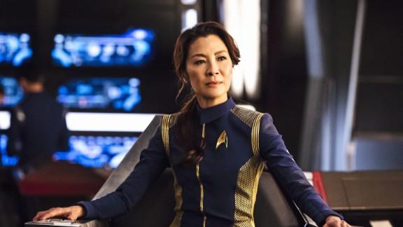 Michelle Yeoh as Captain Philippa Georgiou in 'Star Trek: Discover.'