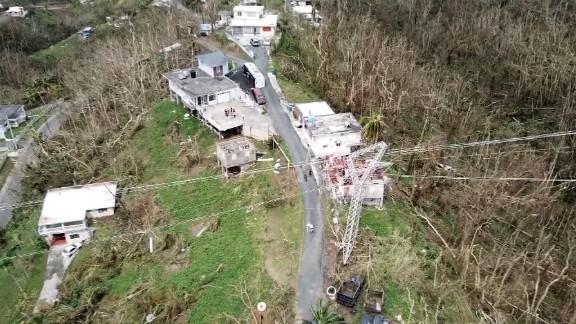 Puerto Rico Bill Weir drone