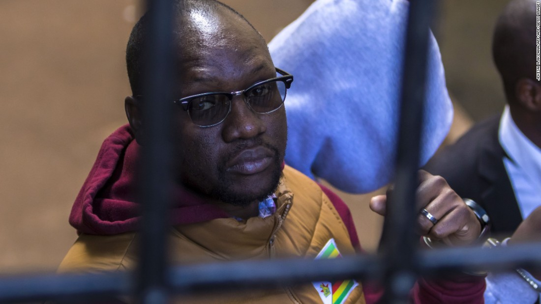 Activist arrested in Zimbabwe for 'inciting violence on social media'