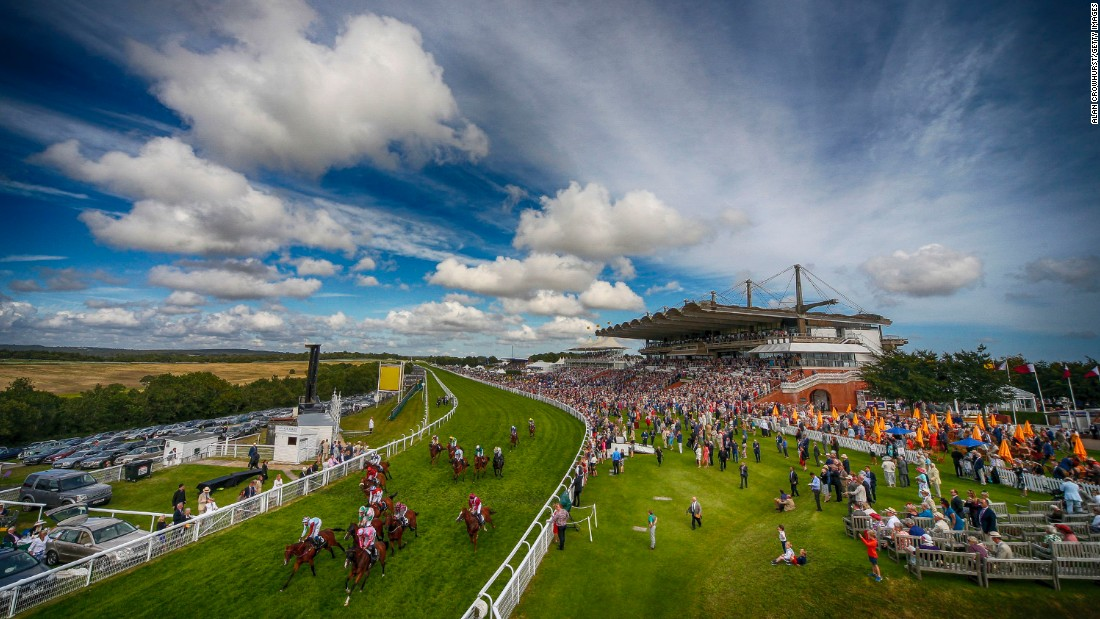 All eyes are on Glorious Goodwood in the first week of August. The spectacular course perched high on the South Downs outside Chichester on England's south coast is another iconic venue.