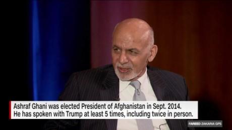 On GPS: Afghan President Ghani