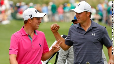 Longstanding friends Thomas and Spieth have competed against each other since they were 13.