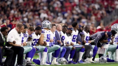 CNN poll: Americans split on anthem protests