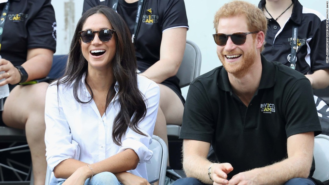 "Markle attends the Invictus Games with <a href=""http://www.cnn.com/2012/08/22/world/gallery/prince-harry-timeline/index.html"" target=""_blank"">Prince Harry</a> in September 2017."