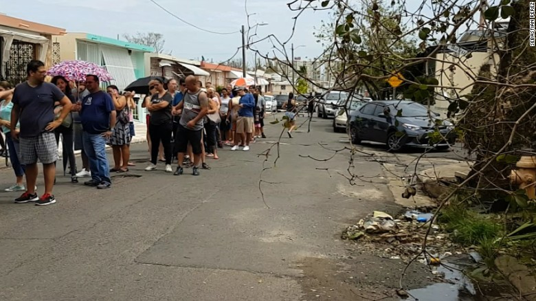 Life without basic needs in Puerto Rico