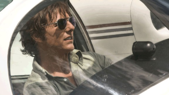 """American Made"": Tom Cruise stars as Barry Seal, an American pilot who became a drug-runner for the CIA in the 1980s in a clandestine operation that would later be exposed as the Iran-Contra Affair. (HBO Now)"