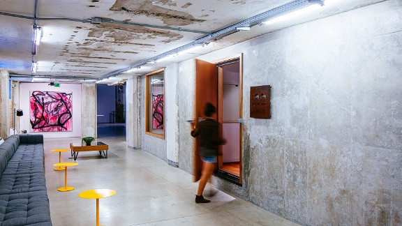 The Red Bull Station, which is located in the heart of Brazil's most populous city, is a five-story building home to a music studio, an art gallery, a roof terrace and working spaces for artists and musicians alike.
