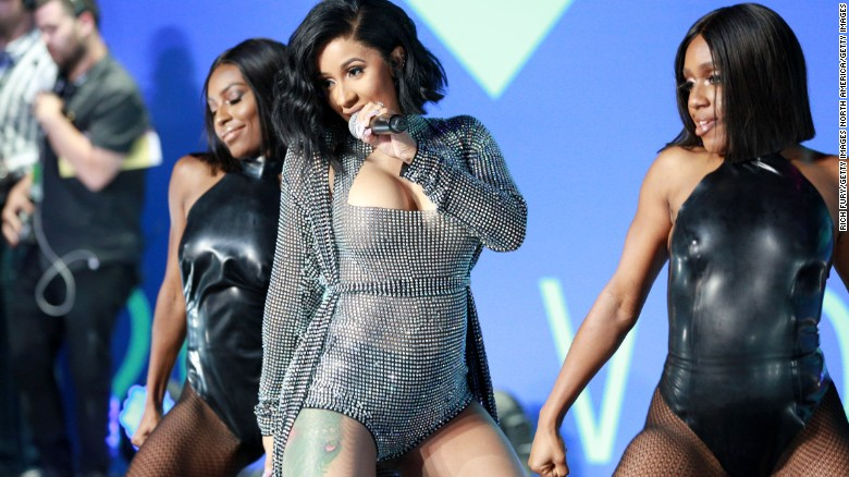 Cardi B is breaking records as a female rapper