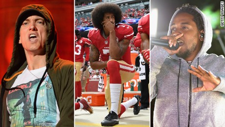 From Eminem to Kendrick Lamar: 7 of hip-hop's strongest lyrics backing Kaepernick
